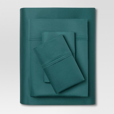 Performance 400 Thread Count Sheet Set Zenith Teal - (Full) - Threshold™