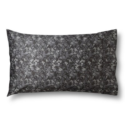 Threshold™ Performance 400 TC Pillowcase Set - Gray Bird Floral (Standard)