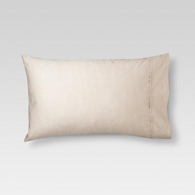 Threshold™ Performance 400 TC Pillowcase Set - Tan Circle Lattice (Standard)