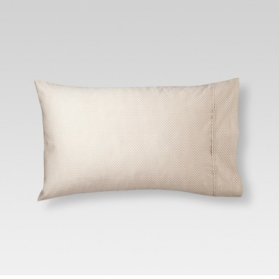 Threshold™ Performance 400 TC Pillowcase - Tan Circle Lattice (King)