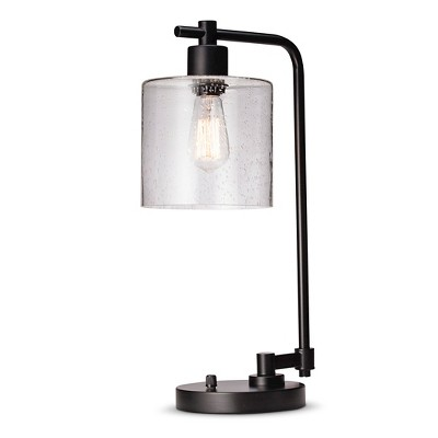 Threshold™ Seeded Glass Edison Table Lamp
