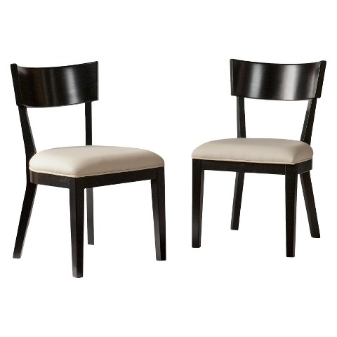 Southern Enterprises Petra Dining Chairs - Galaxy Black