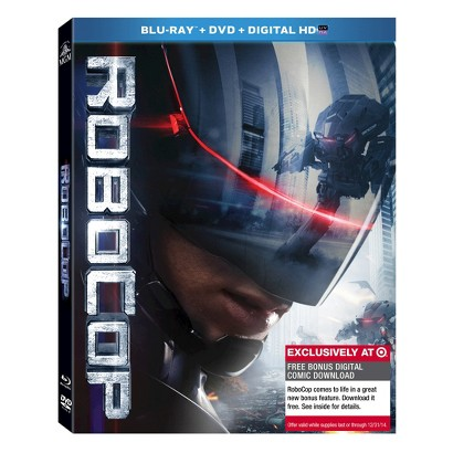 RoboCop (Blu-ray/DVD/Digital) W/Digital Comic Book - Only at Target