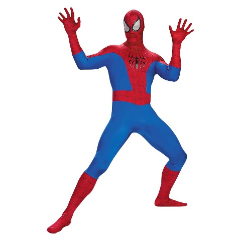 Boys' Spider-Man Super Deluxe Costume OSFM
