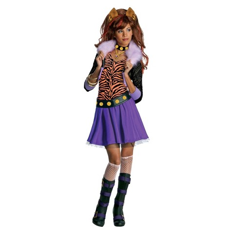 Monster high girls clawdeen wolf costume product details page