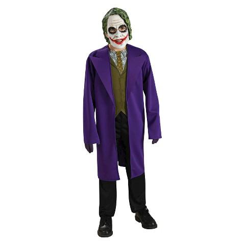 The Dark Knight Boys' The Joker Costume