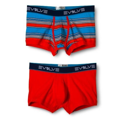 Evolve® Men's 2 Pack Boxer Briefs