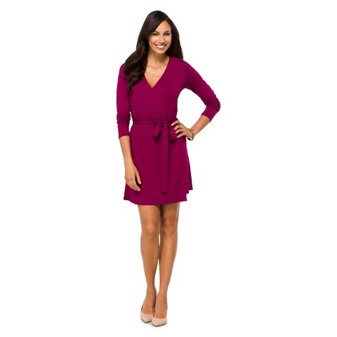 Women's Knit Wrap Dress