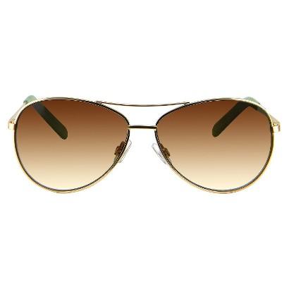 Aviator Sunglasses - Matte Gold