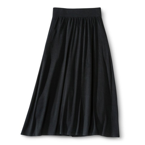 Girls' Solid Maxi Skirt