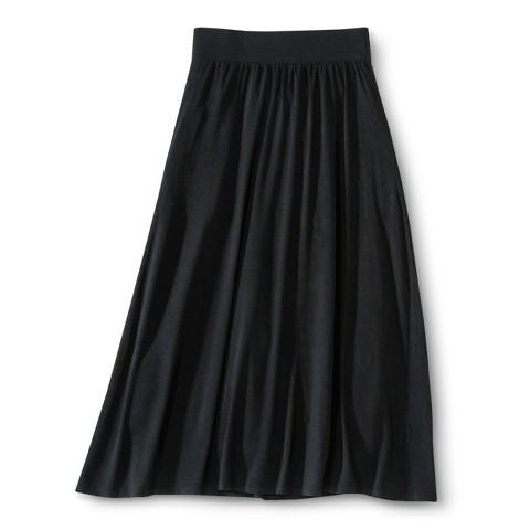 Girls' Solid Maxi Skirt