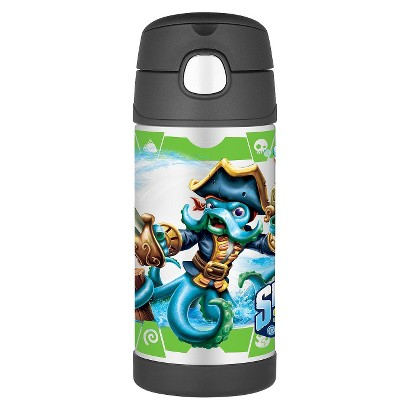 Portable Beverage Bottle THERMOS 12oz. Black Skylanders