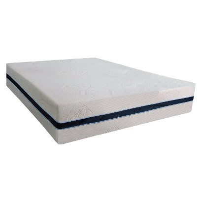 "Sealy 14"" Memory Foam Mattress - Off-White  (Twin)"