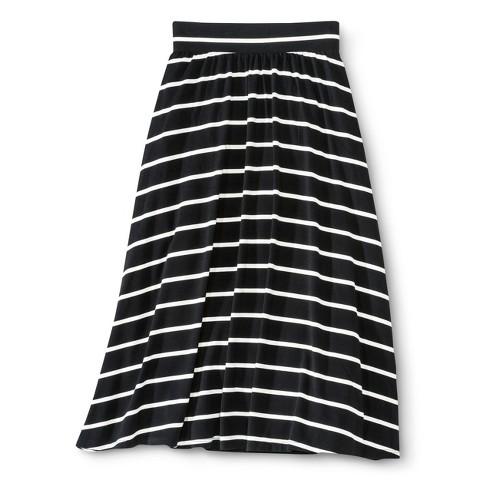 Girls' Striped Maxi Skirt