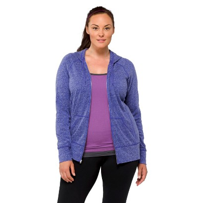 C9 by Champion Women's Plus-Size Hoodie - Plumbago Blue