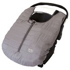 Eddie Bauer Reversible Baby Carrier Cover - Gray
