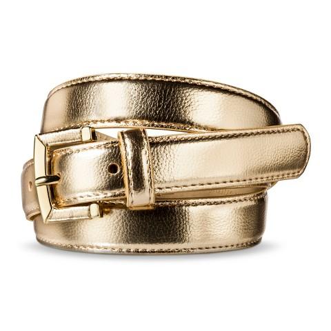 Merona® Solid Belt - Gold