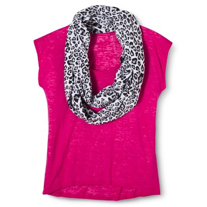 Junior's Tee with Scarf