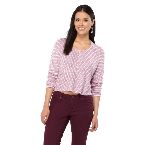 Mossimo® Women's Crop Sweater - Assorted Colors