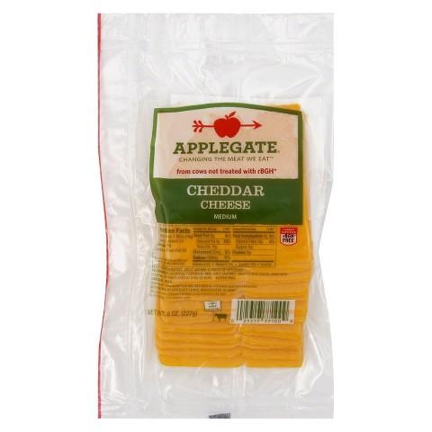 Applegate Cheddar Cheese 8oz