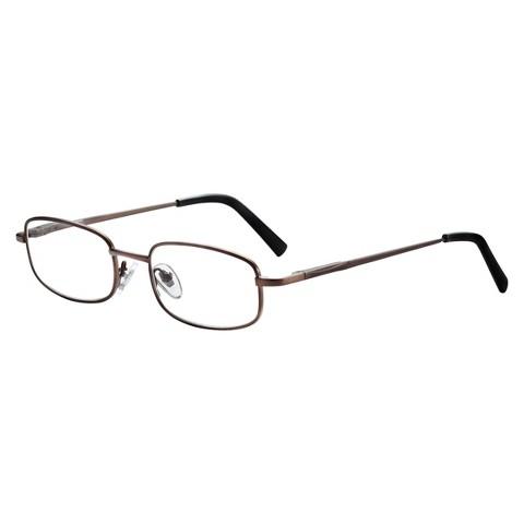 ICU Titanium Rectangle Reading Glasses
