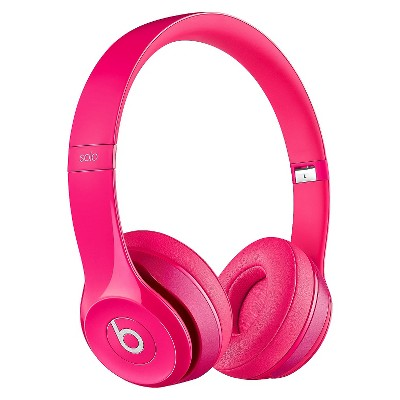 Beats Solo 2 On-Ear Headphones - Pink
