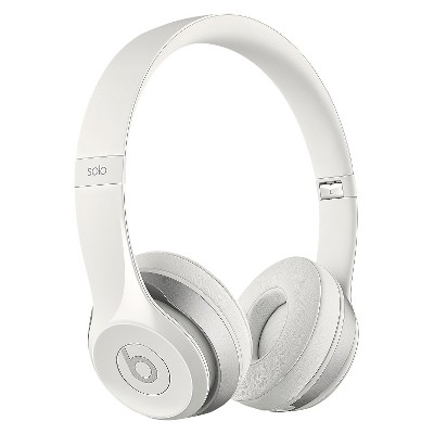 Beats Solo 2 On-Ear Headphones - White