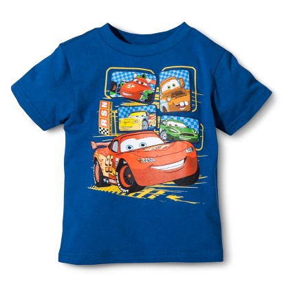 Disney® Cars Infant Toddler Boys' Short Sleeve Tee