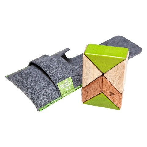 Tegu 6-piece Pocket Pouch Prism in Jungle