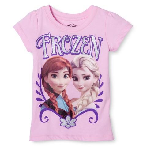 Disney® Frozen Infant Toddler Girls' Short Sleeve Tee