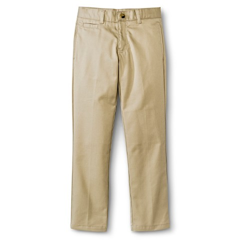 French Toast® Boys' School Uniform Flat Front Pant