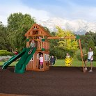 Backyard Discovery Outing All Cedar Swingset