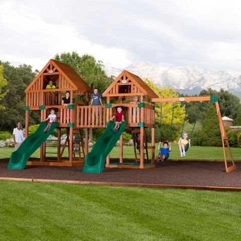 backyard discovery vista all cedar swingset product details page