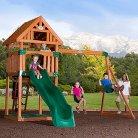 Backyard Discovery Trek All Cedar Swingset