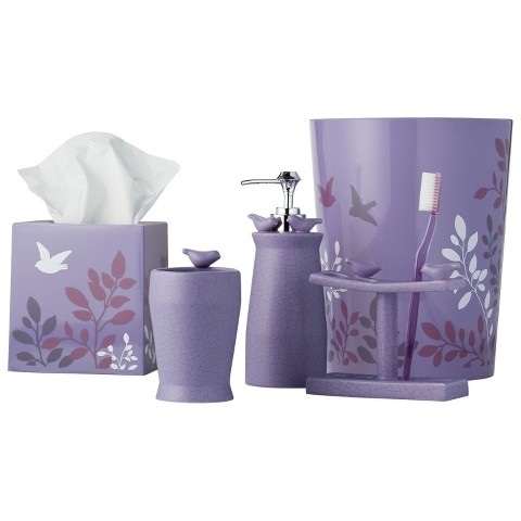 Coordinated bathroom accessories home design for Bathroom coordinate sets