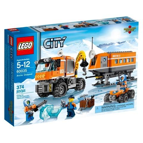 LEGO® City Arctic Outpost 60035