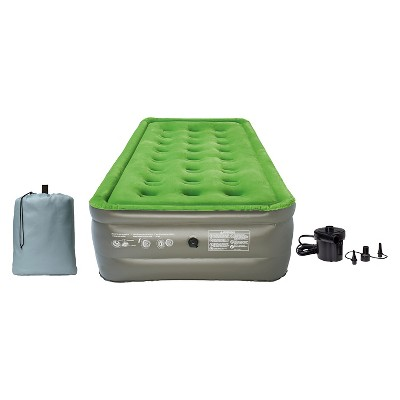 Embark Twin Raised Airbed w/ pump