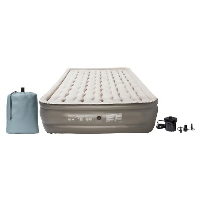 Embark Queen Raised Airbed w/pump