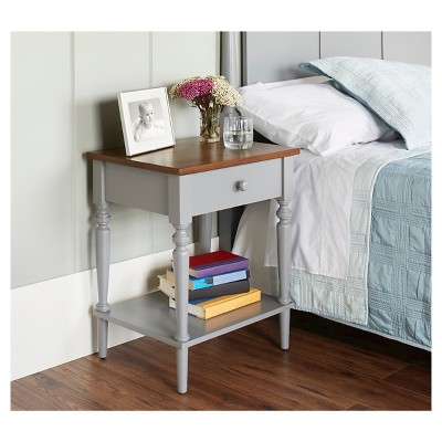 Isabella Nightstand - Gray