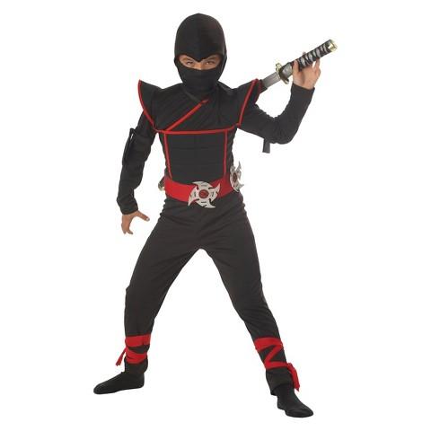 Boy's Stealth Ninja Child Costume - Husky Sizes