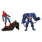 Marvel Ultimate Spider-Man Power Webs Figure 2-Pack (Spider Swat Venom and Rocket Ramp Spider-Man)