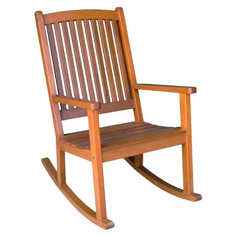 Caravan Royal Tahiti Large Shorea Wood Porch Rocker