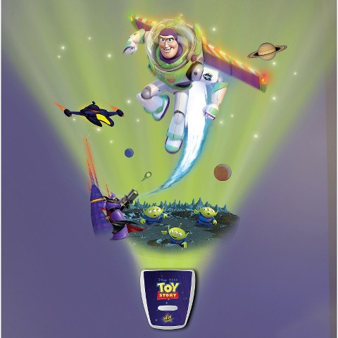Wild Walls Toy Story Star Command Space Mission Wall Decal