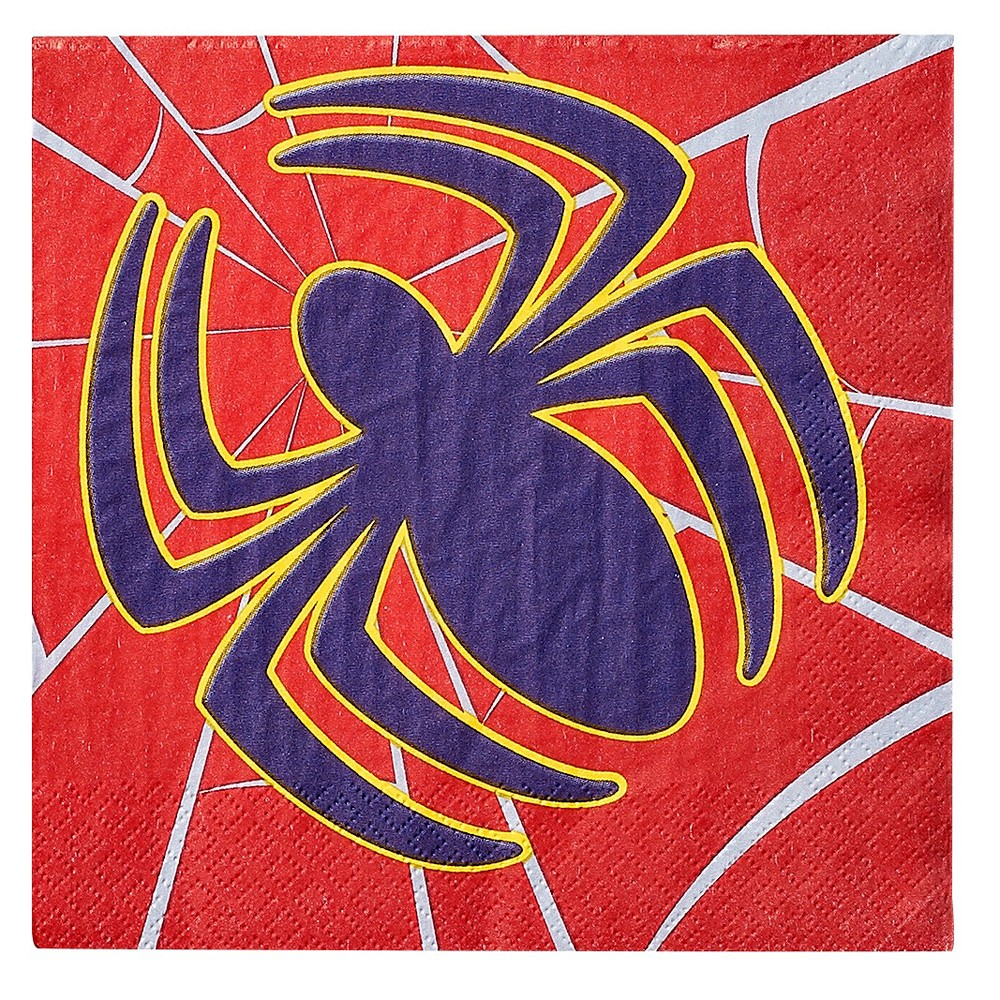 Spiderman Lunch Napkin 16 Count