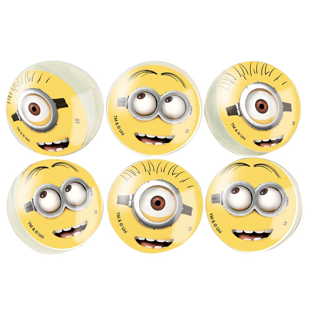 Despicable Me Minions Bouncy Ball 6 Count