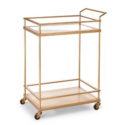 Threshold Bar Cart Gold Target