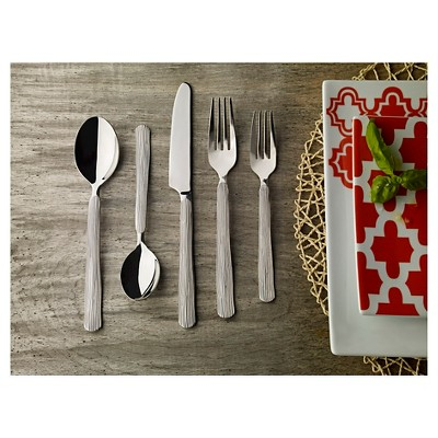 Threshold™ Textured Birch 20 Piece Flatware Set