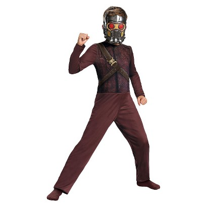 Image of Boy's Guardians of the Galaxy Star Lord Basic Costume - Small