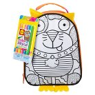 Alex Color A Lunch Bag-Kitty Cat