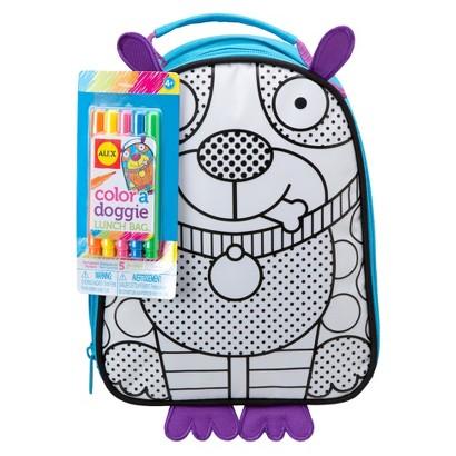 Alex Color A Lunch Bag-Doggie